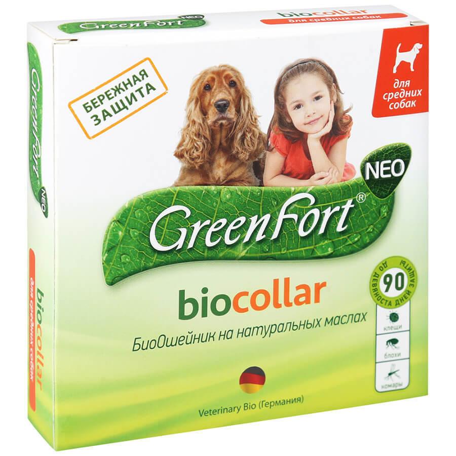 Grinfort Bio - Ошейники для собак от блох и клещей: виды, рейтинг лучших