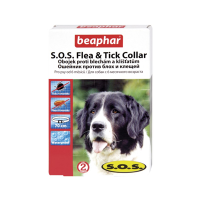 S.O.S. Flea & Tick Collar.